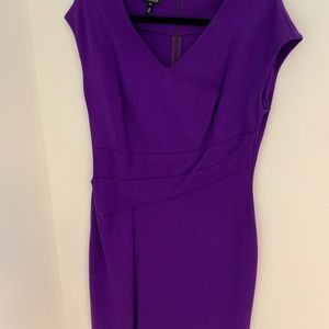 Escada Size 42 Purple Dress (Size 12 in U.S.)